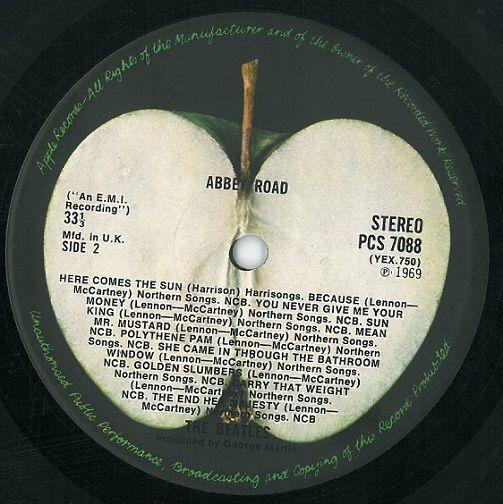 The Beatles Abbey Road Vinyl Lp Planet Earth Records